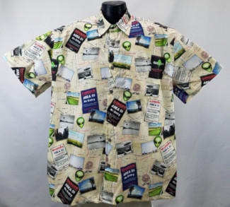 Area 51 Alien Hawaiian Shirt